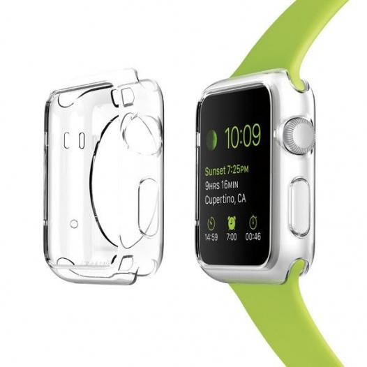 TPU чехол SGP Liquid Crystal Series для Apple watch 38mm