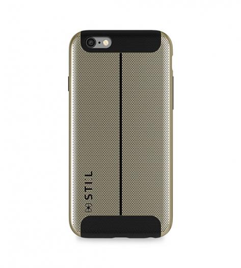 Накладка STIL Chivarly Series с алюминиевой вставкой для Apple iPhone 6/6s (4.7
