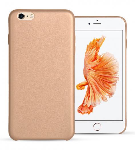 Ультратонкая кожаная PU накладка для Apple iPhone 6/6s (4.7