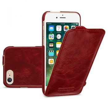 Кожаный чехол (флип) TETDED Lava Series для Apple iPhone 7 (4.7