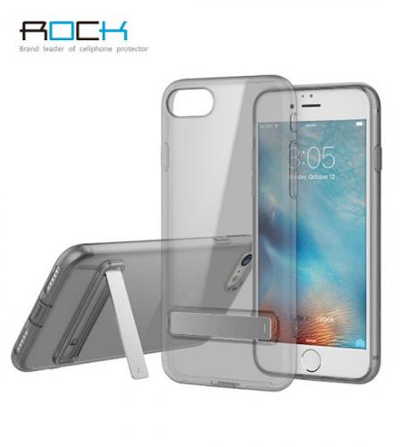 TPU чехол ROCK Slim Jacket с функцией подставки для Apple iPhone 7 (4.7