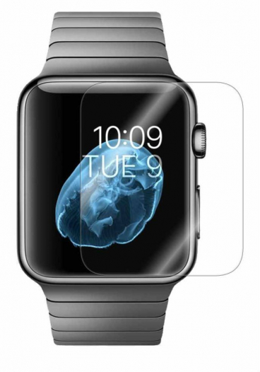Защитное стекло Ultra Tempered Glass 0.33mm (H+) для Apple watch 42mm (картонная упаковка)
