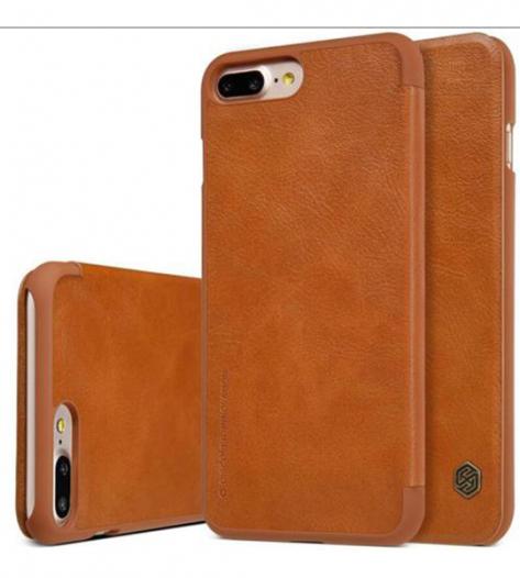 Кожаный чехол (книжка) Nillkin Qin Series для Apple iPhone 7 plus (5.5