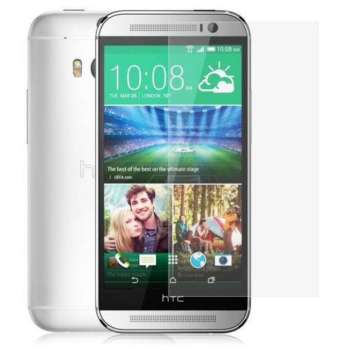 Защитное стекло Ultra Tempered Glass 0.33mm (H+) для HTC New One 2 / M8 (картонная упаковка)