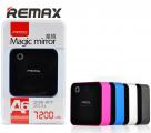 Дополнительный внешний аккумулятор Remax Magic Mirror 7200 mAh (2A)