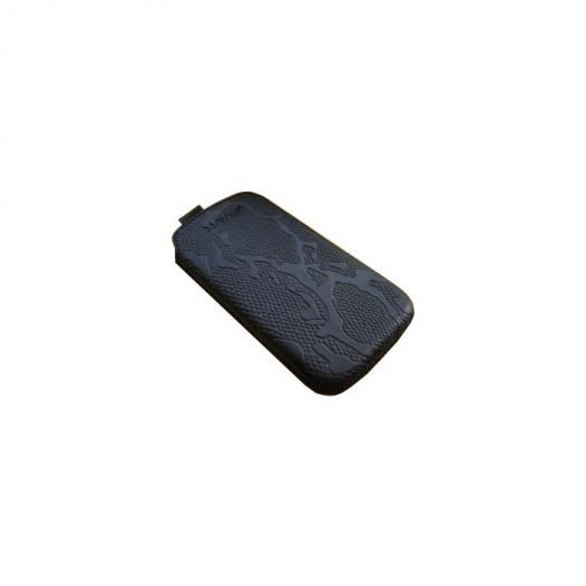 Кожаный футляр Mavis Classic PYTHON 112x48/119x50 для Nokia X2-02/Samsung S5610