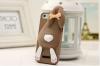 Силиконовый чехол 3D Moschino для Apple iPhone 5/5S/SE