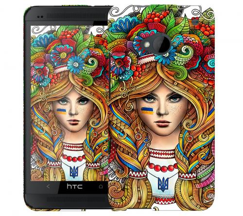 Чехол «Украинка» для HTC One
