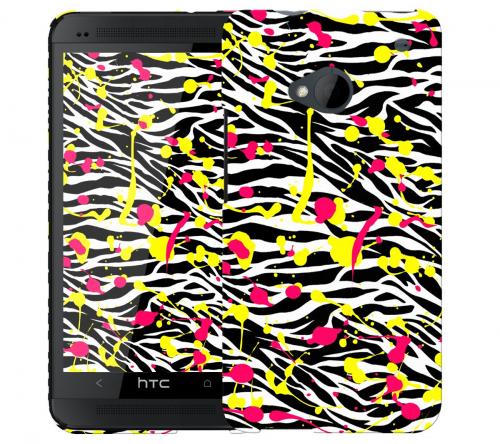 Чехол «Крутая зебра» для HTC One