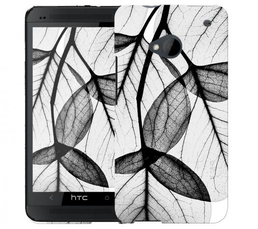 Чехол «Листики» для HTC One
