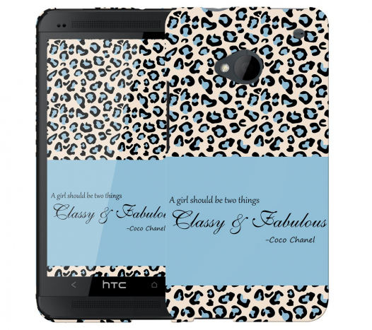 Чехол «Classy and Fabulous» для HTC One