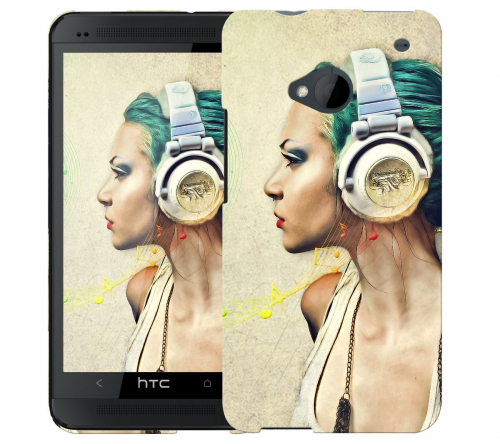 Чехол «Music» для HTC One