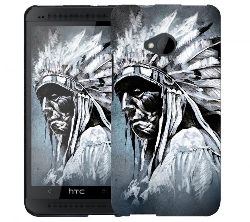 Чехол «Индеец» для HTC One