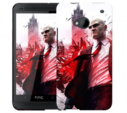 Чехол «Hitman» для HTC One