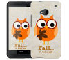 Чехол «Fall owl» для HTC One