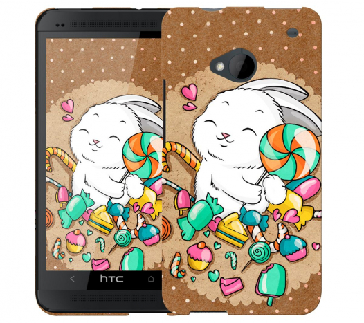 Чехол «Зайка» для HTC One