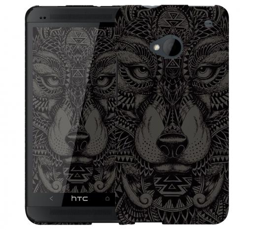 Чехол «Волк» для HTC One