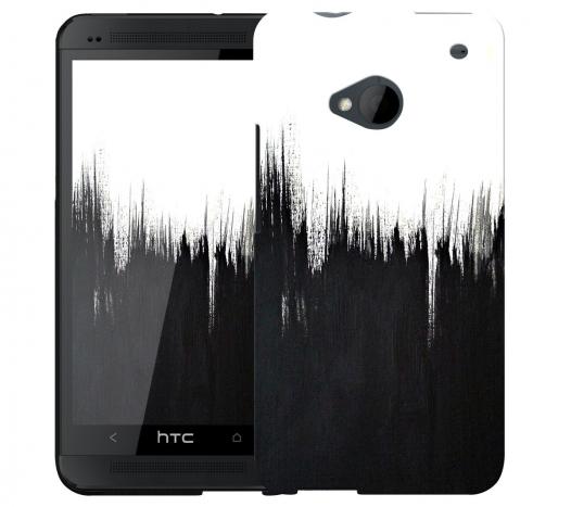 Чехол «Белое и Черное» для HTC One