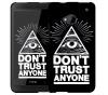 Чехол «Don't trust anyone» для HTC One