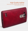 Кожаный чехол (книжка) Nillkin Qin Series для LG H734/H736 G4s Dual