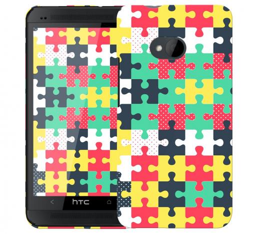 Чехол «Пазл» для HTC One