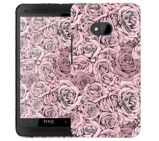 Чехол «Paper Rose» для HTC One