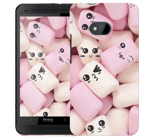 Чехол «Зефирки» для HTC One