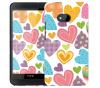 Чехол «Сердечки» для HTC One