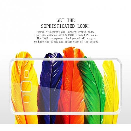 Пластиковая накладка IMAK Crystal Series для Samsung J700H Galaxy J7
