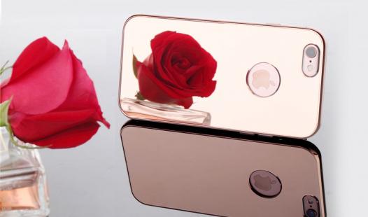 Алюминиевая накладка Rock Infinite Series (Mirror) для Apple iPhone 6/6s (4.7
