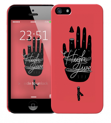 Чехол «High Five» для Apple iPhone 5/5s