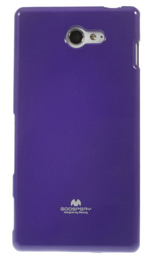 TPU чехол Mercury Jelly Color series для Sony Xperia M2