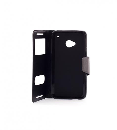 Чехол (книжка) с TPU креплением для HTC One DUAL/802d