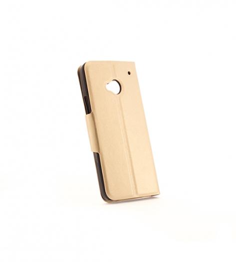 Чехол (книжка) с TPU креплением для HTC One / M7