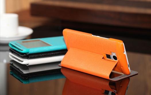 Кожаный чехол (книжка) ROCK Excel series для HTC One MAX