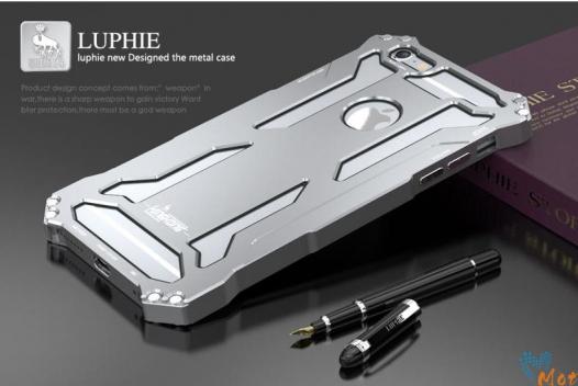Алюминиевый защитный бампер Luphie King-Kong Series для Apple iPhone 6/6s plus (5.5