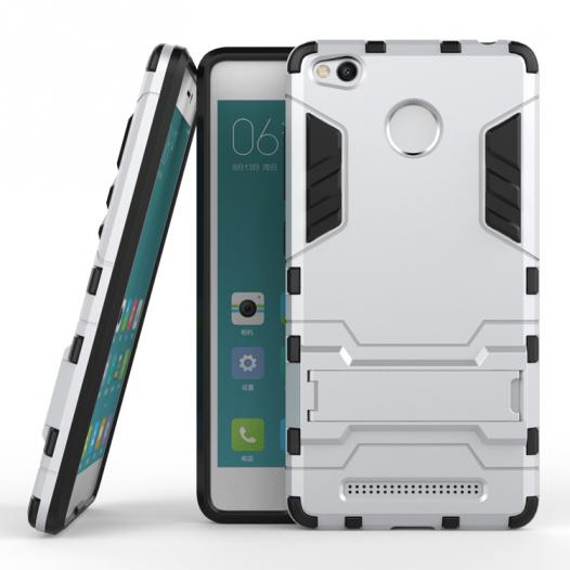 Ударопрочный чехол-подставка Transformer для Xiaomi Redmi 3 с мощной защитой корпуса