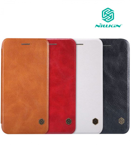 Кожаный чехол (книжка) Nillkin Qin Series для Apple iPhone 6/6s (4.7