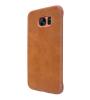 Кожаный чехол (книжка) Nillkin Qin Series для Samsung G935F Galaxy S7 Edge