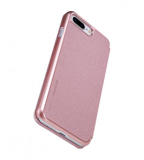 Кожаный чехол (книжка) Nillkin Sparkle Series для Apple iPhone 7 plus (5.5