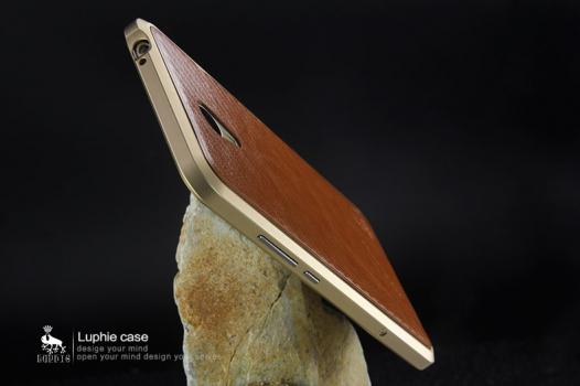 Алюминиевый бампер Luphie Blade Sword для Meizu M3 Note + наклейка из кожи на зад.панель
