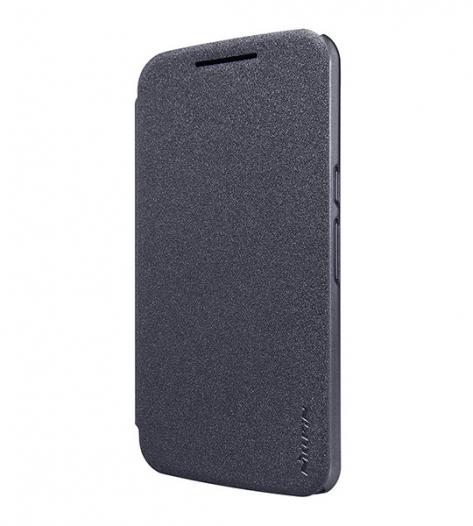 Кожаный чехол (книжка) Nillkin Sparkle Series для Motorola Moto G4 / G4 Plus