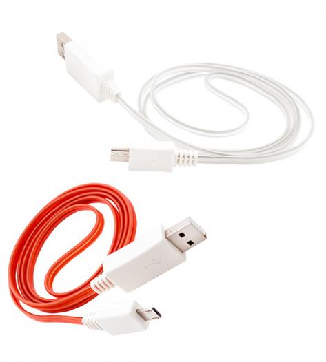 Дата кабель (светящийся) Navsailor MicroUSB (C-L01)