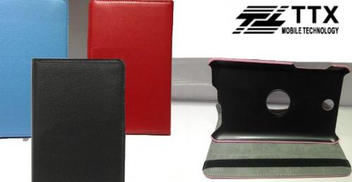 Кожаный чехол-книжка TTX (360 градусов) для Asus Fonepad 7 ME371