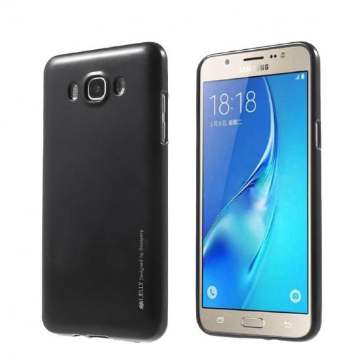 TPU чехол Mercury iJelly Metal series для Samsung J510F Galaxy J5 (2016)
