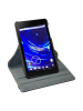 Кожаный чехол-книжка (вращение 360 градусов) для Asus Google Nexus 7 New