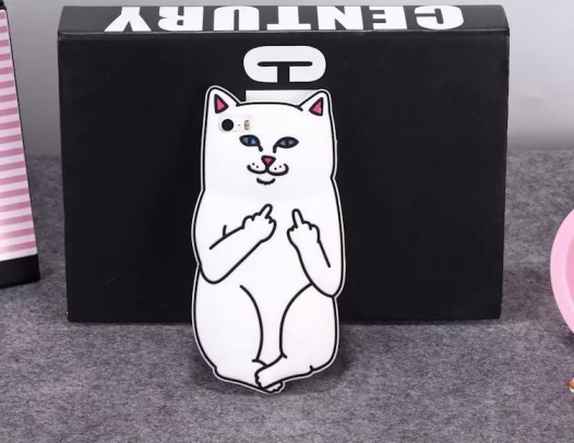 Чехол F*ck Off Cat для Apple iPhone 6/6s (4.7