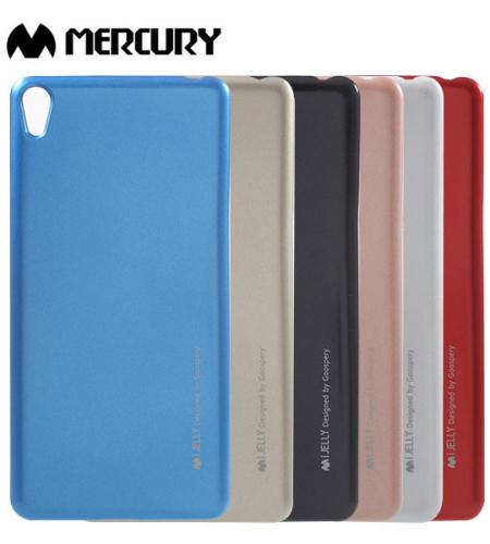 TPU чехол Mercury iJelly Metal series для Sony Xperia E5