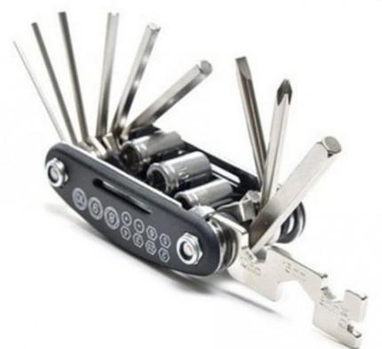 Многофункциональный компактный набор инструментов с шестигранниками (13 в 1)