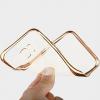 TPU чехол с золотой каймой для Samsung G935F Galaxy S7 Edge
